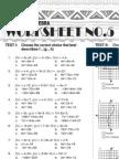 5 Advanced Algebra Worksheet
