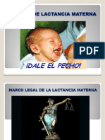 Platica de Lactancia Materna