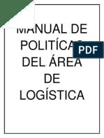 Manual de Politicas Logistica