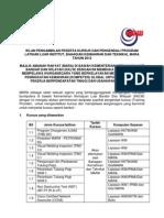 Kursus Dan Pengendali Program Latihan Luar Institut
