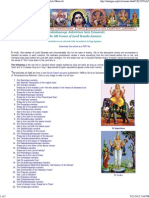 108 Names of Skanda-Murugan