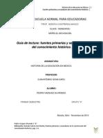 Fuentes Historicas