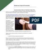 Buscando Empleo Utilizando una Tarjeta de Presentación.pdf
