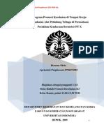 Promkes Pemakaian APT-Perusahaan Kendaraan Bermotor PT X