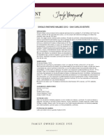 2012 Es Ficha Tecnica Single Vineyard Ma Snca