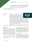 Comparison of Different Technologies for Non-Invasive Skin Tightening