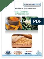 Daily Agri Report-15 Dec 2014