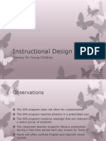 instructional design presentation