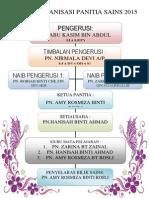 Carta Organisasi Panitia Sains 2015