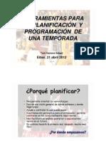 Herramientos para la planificación y programación de la temporada. Toni Gerona.doc