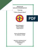 MAKALAH CIDERA KEPALA BERAT.docx