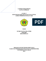Pengukuran Bilangan Reynold untuk Aliran Produk Pangan Cair