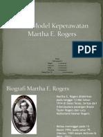 Teori Model Kaeperawatan Martha E