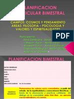 Planificacion Curricular Bimestral Presentacion