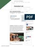 Lab 21_ Servo Motor Control _ Embedded Lab