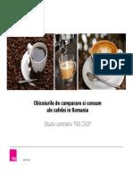 Comportament de Cumparare Cafea