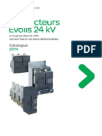 Catalogue Schneider Electric - Evolis 24 kV - 2014