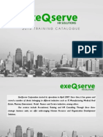 ExeQserve Training Catalogue 2015