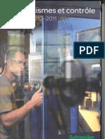 Catalogue Schneider Electric - Automatisme Et Contrôle - 2010,2011