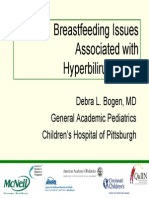 Breastfeeding SHB