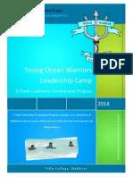 Young Ocean Warriors Leadership Camp