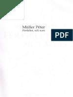 Mller Pter - Frfilet Ni Sors