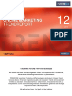 Online Marketing Trendreport - Futurebiz, TrendOne