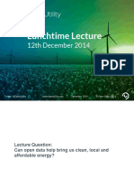 Friday lunchtime lecture