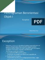 Materi Exception