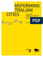 Transforming Australian Cities Report July 09