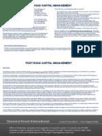 Diamond Resorts Post Road Capital Long Case