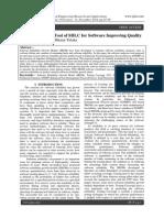 SRGM Analyzers Tool of SDLC for Software Improving Quality
