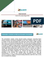 Gati Investors Presentation FinalV1
