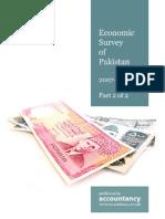Economic Survey Pakistan 2007 2008