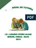 Plan Anual de Trabajo de Tutoria 2013