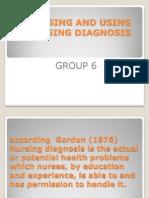 Ppt Nursing and Using Nursing Diagnosis