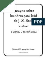 Ensayo Sobre Bach Eduardo Fernandez