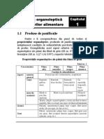 Analiza organoleptica a alimentelor