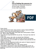 Methods of Inventory Control