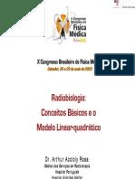 Radiobiologia - Congresso de Fisica Médica.