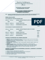 LET Program March 2015