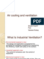 Air Cooling and Ventilation