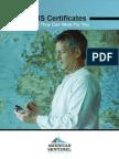 As GIS Certificate eBook