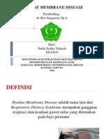 Hyaline Membrane Disease Slide