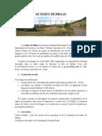 Le Viaduc de Millau Est Un Pont à Haubans Franchissant La Vallée Du Tarn