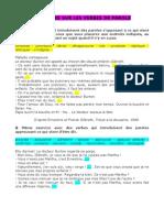 6° Exercices - verbes de déclaration