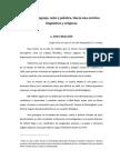 Ensayo Aelfwine 2014 Segundo premio - Lenguaje Mito y Palabra - Sociedad Tolkien Española
