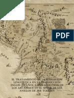 Ensayo Aelfwine 2014 Accésit - La Traducción de Los Arcaismos en ESDLA - Sociedad Tolkien Española