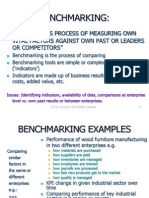 Benchmarking Brief