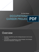 occupational career project